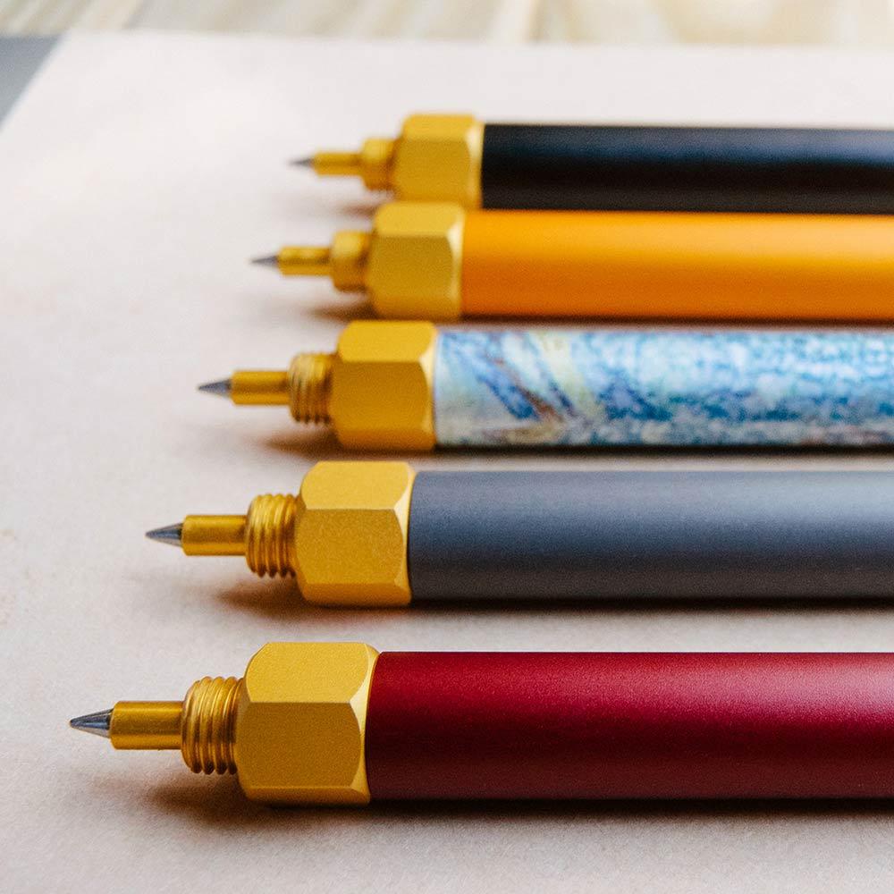 森作所|森系列鋼珠筆(橘色)