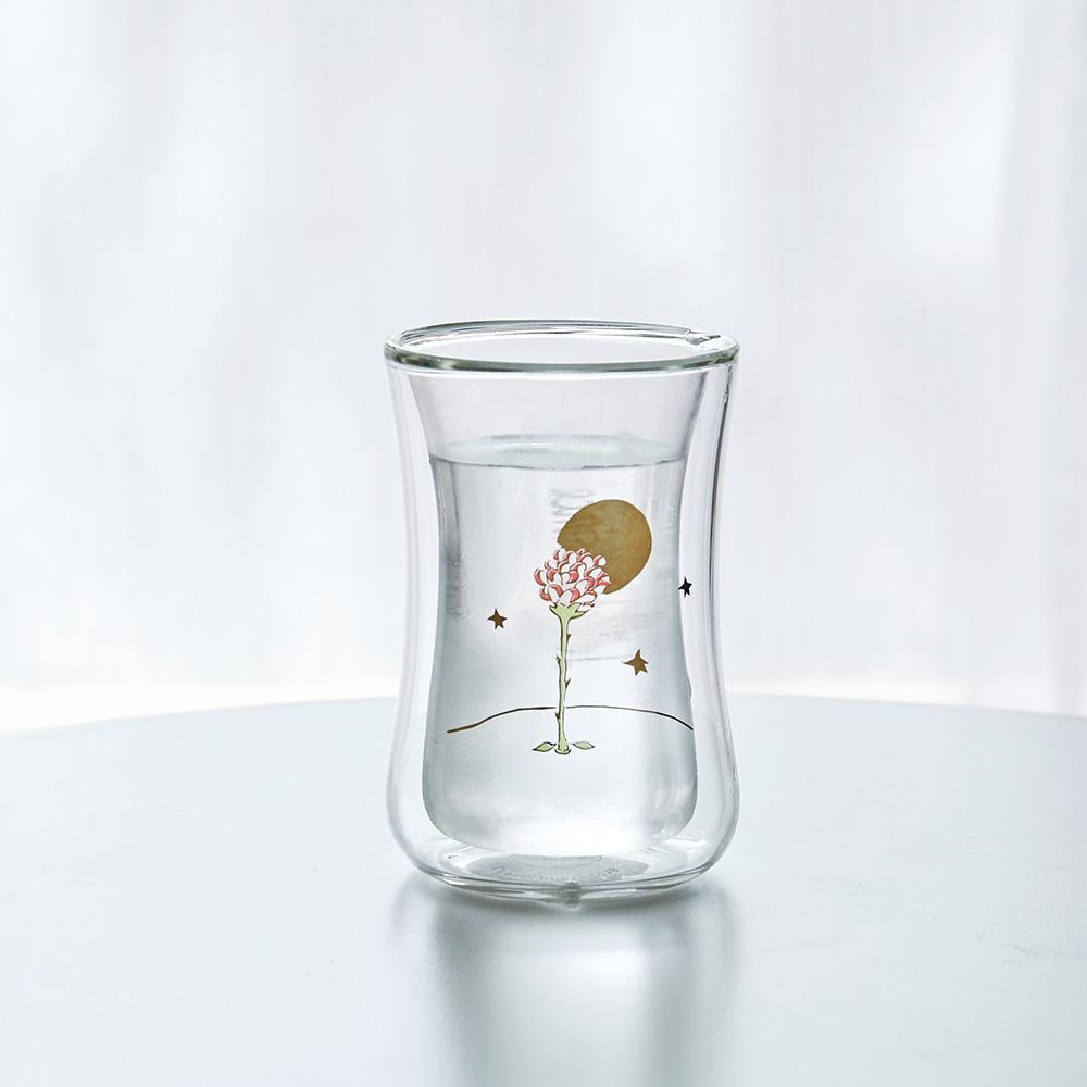 想望咖啡|想望玫瑰-小王子小迷布雙層玻璃杯