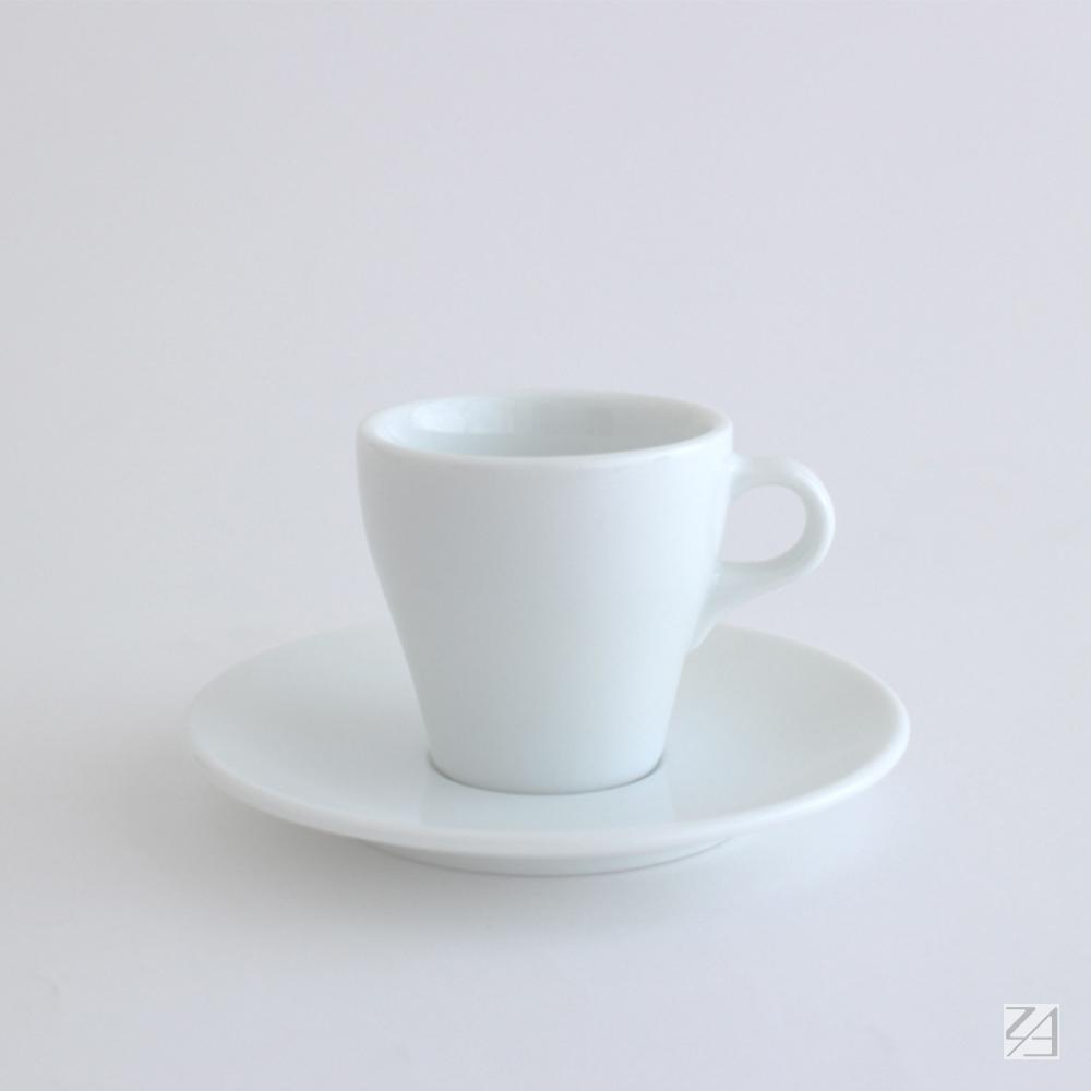 日本ORIGAMI 摺紙咖啡陶瓷杯組 卡布杯 180ml (純白色)