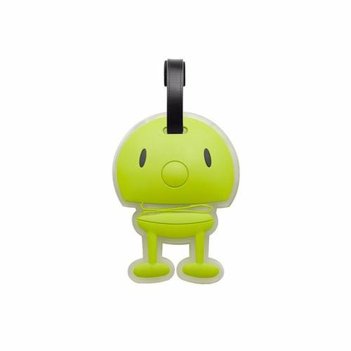 丹麥 Hoptimist|微笑彈簧小人 Bag Tag 微笑包包掛飾(萊姆綠)