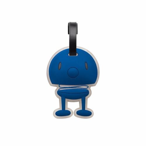 丹麥 Hoptimist|微笑彈簧小人 Bag Tag 微笑包包掛飾(深藍)