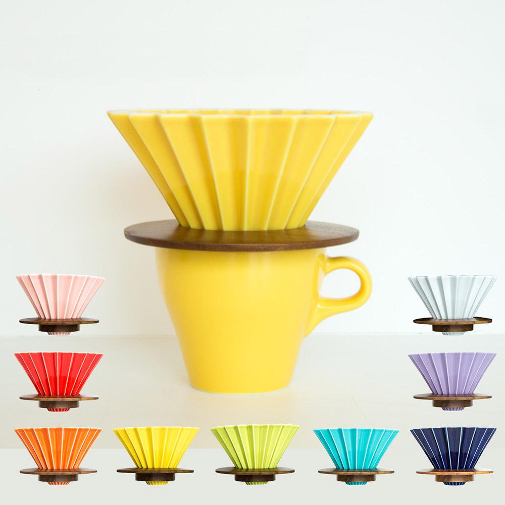 日本 ORIGAMI|摺紙咖啡陶瓷濾杯組 M 第二代 (9色)