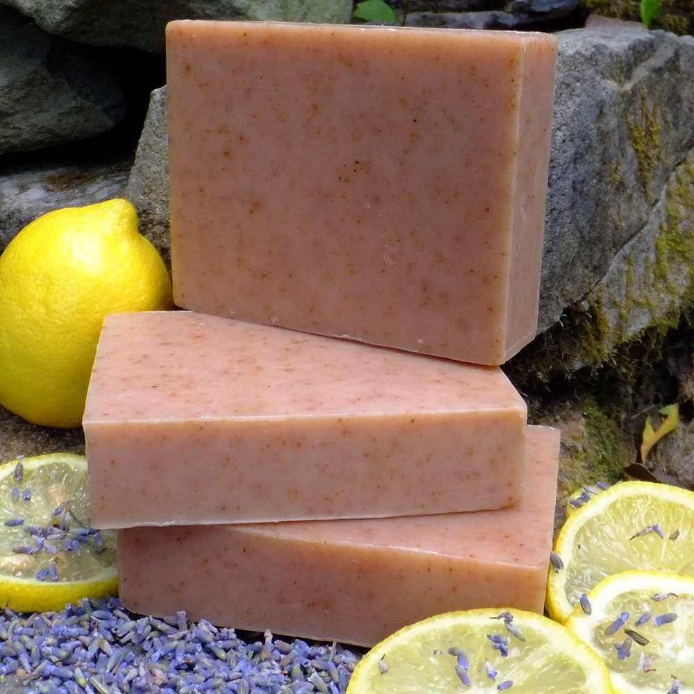 美國Chagrin Valley|有機檸檬薰衣草高嶺土植物手工皂 5.8 OZ