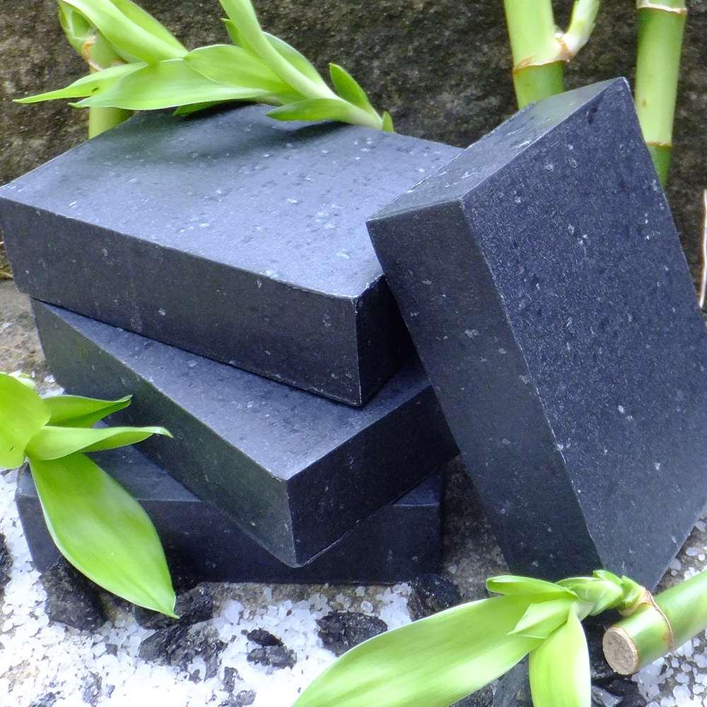 美國Chagrin Valley 天然竹炭海鹽深層清潔植物手工皂 5.8 OZ