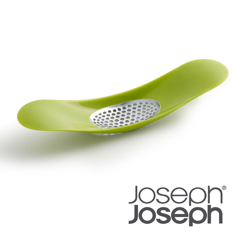 Joseph Joseph|英國創意餐廚 好輕鬆壓蒜器(綠)