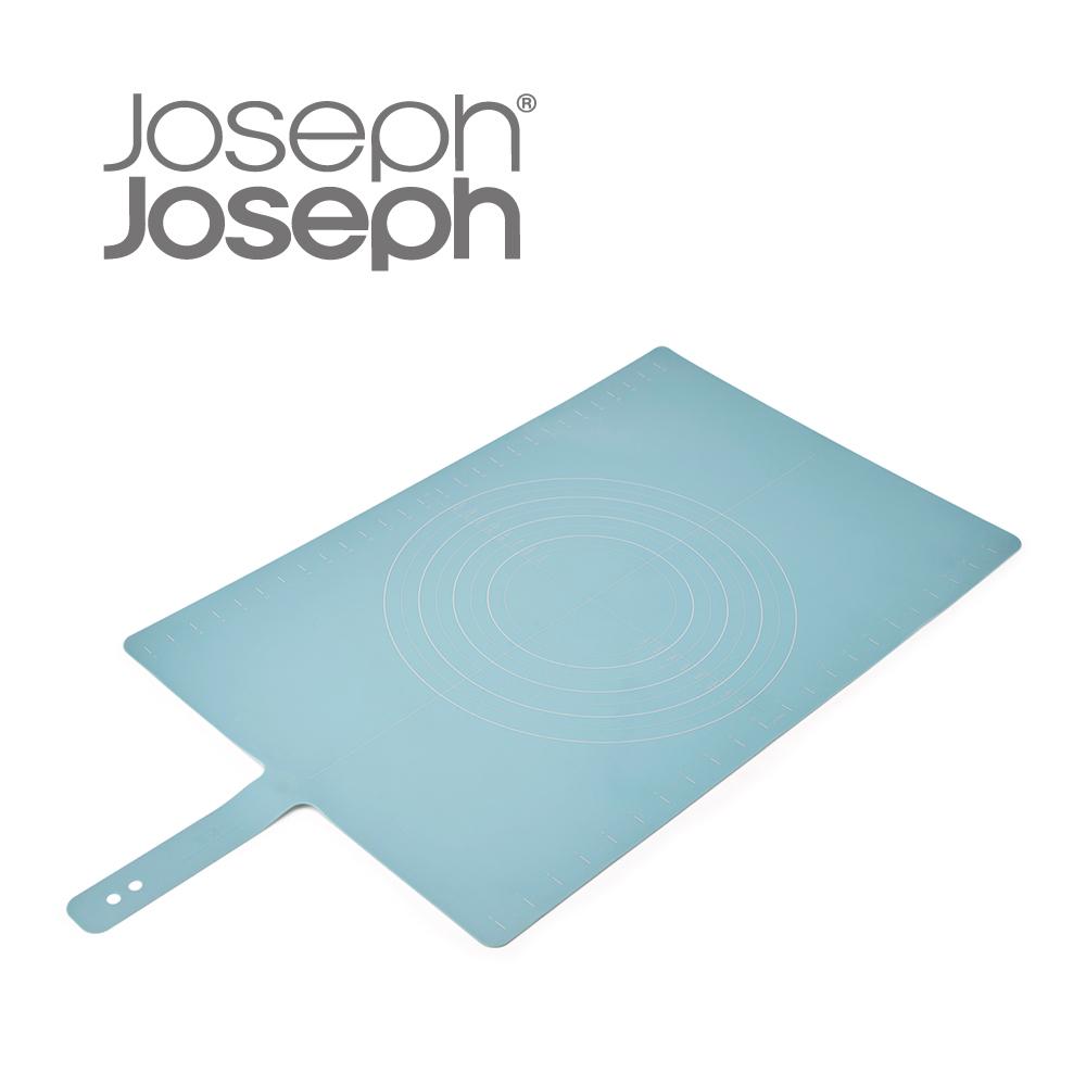 Joseph Joseph|英國創意餐廚 好收納矽膠桿麵墊(藍)