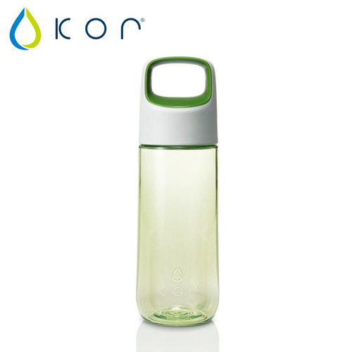 美國KORwater KOR Aura輕巧水瓶-樂活綠/500ml