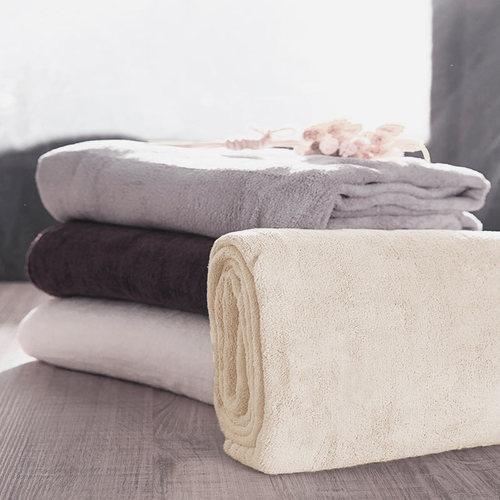 Microdry|舒適快乾浴巾-象牙白