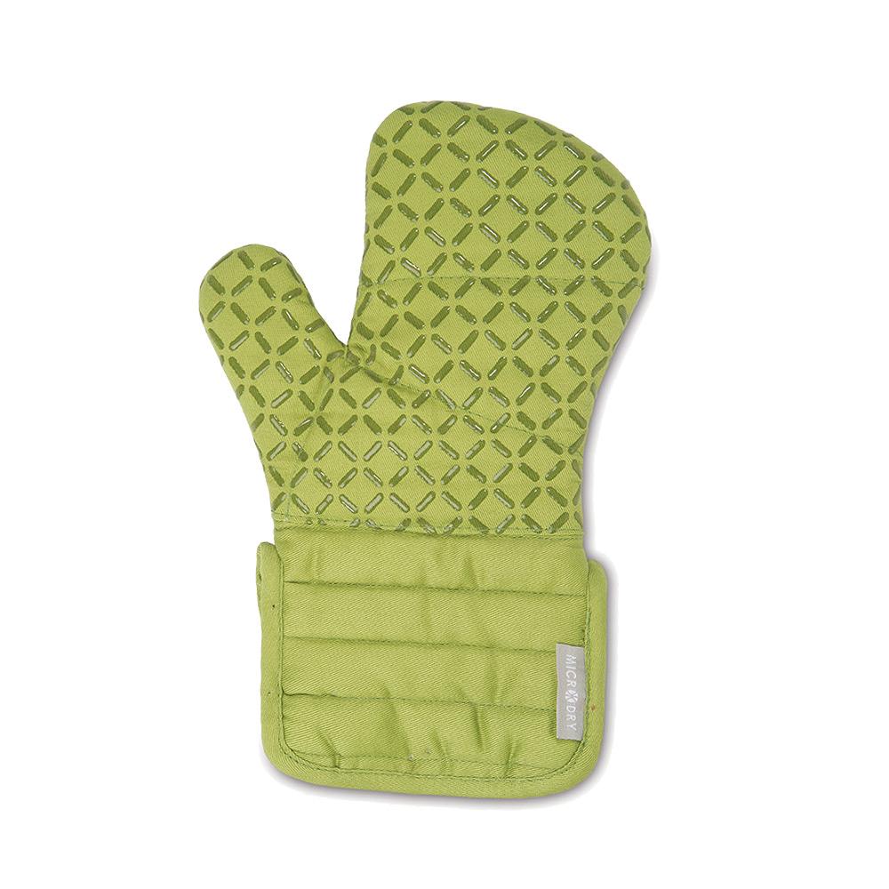 Microdry|舒適防滑隔熱手套S-嫩葉綠