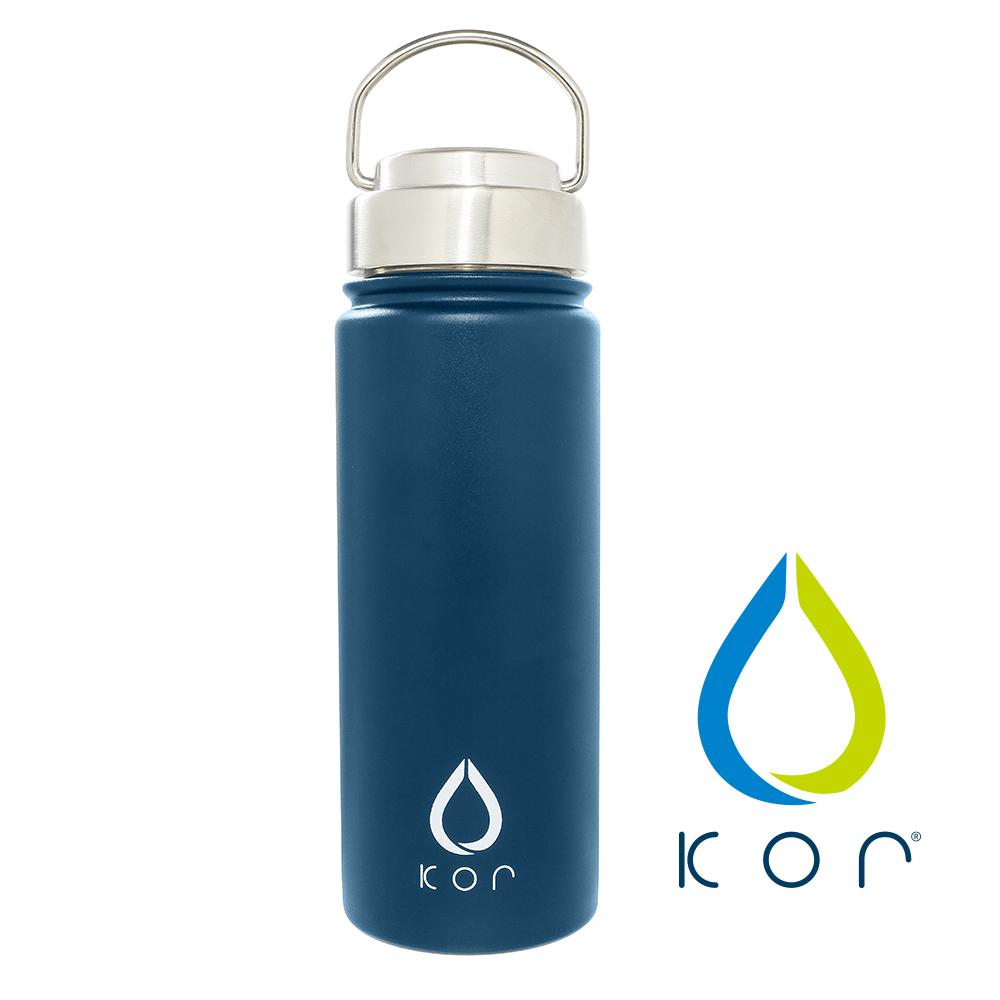 美國KORwater|ROK304不鏽鋼隨身保冷保溫瓶-星空藍/532ml
