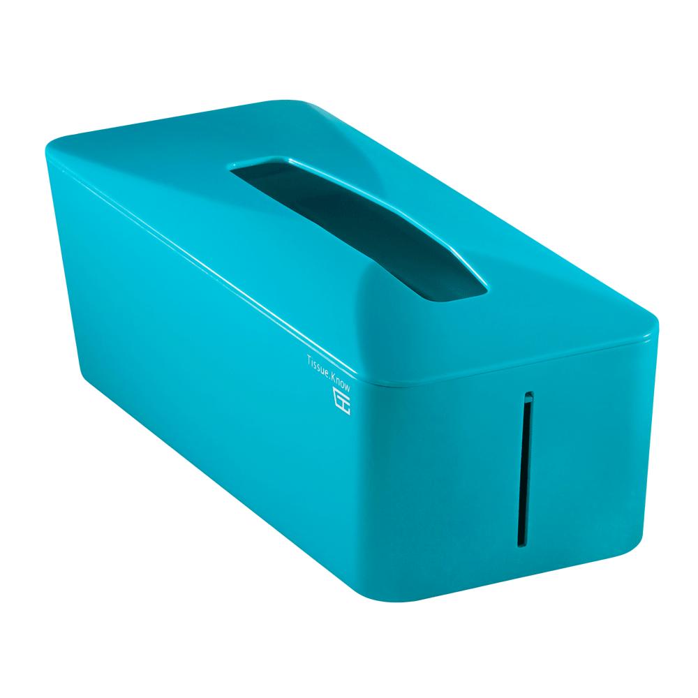 Unique Art|Tissue. Know自動彈升面紙盒  (土耳其藍)