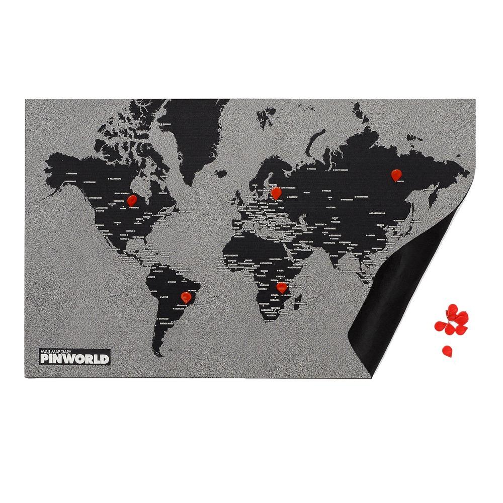 palomar|拼世界地圖 mini版 黑色