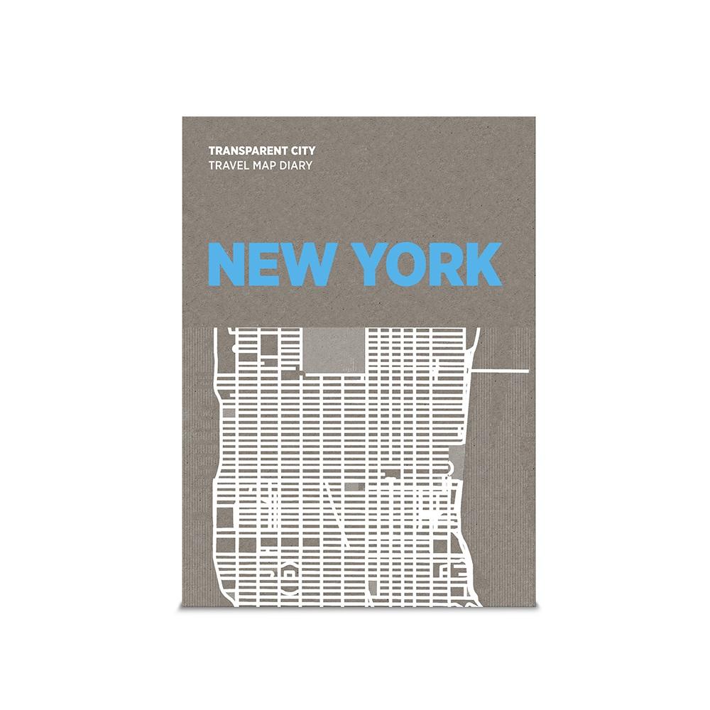 palomar|描一描城市透明地圖 紐約