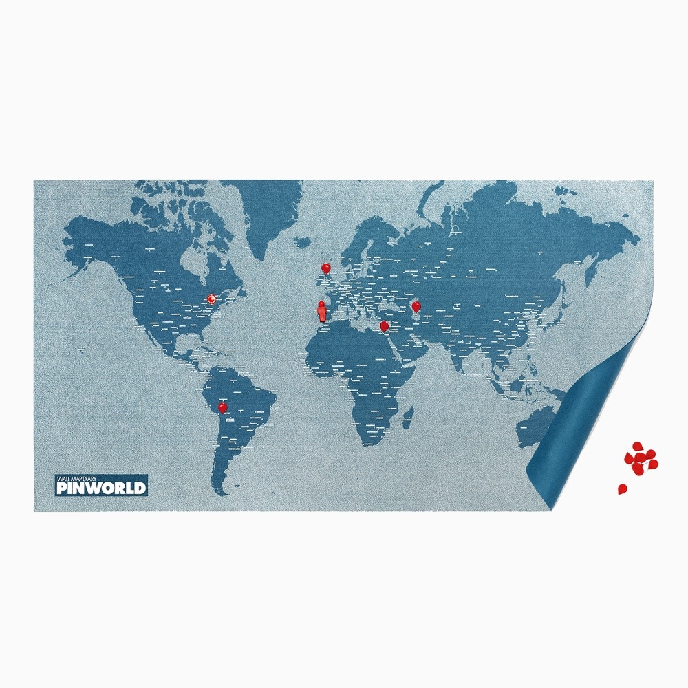palomar 拼世界地圖 藍色