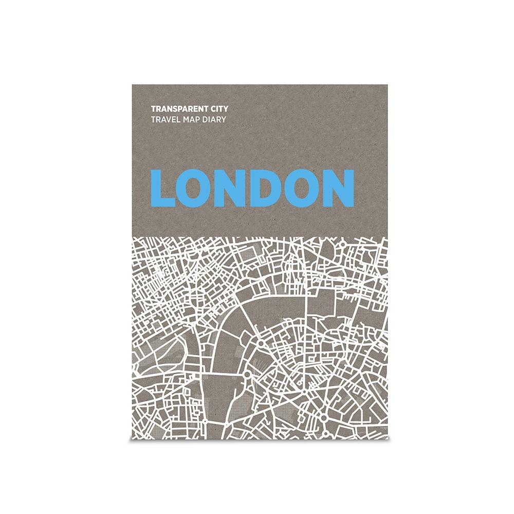 palomar|描一描城市透明地圖 倫敦