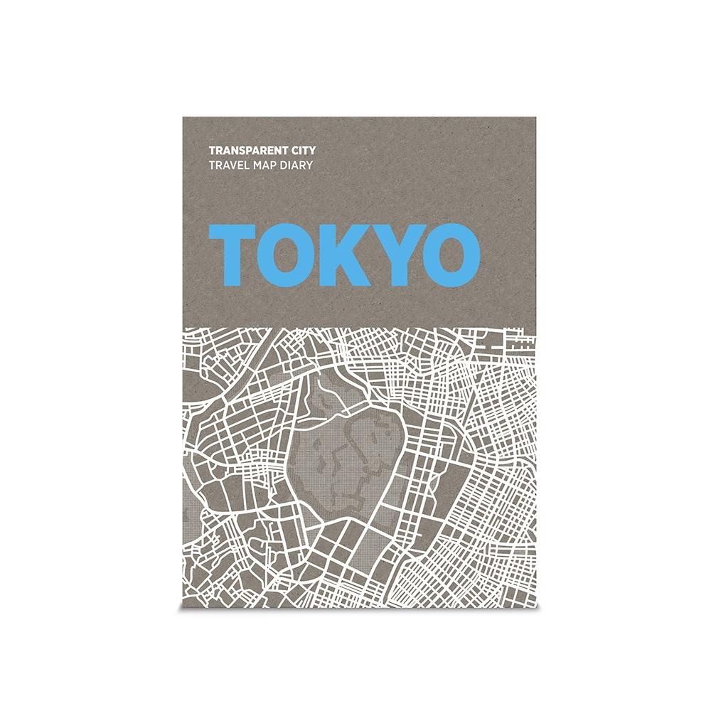 palomar|描一描城市透明地圖 東京