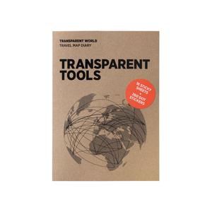 palomar|描一描地圖 透明繪圖紙補充包 世界版
