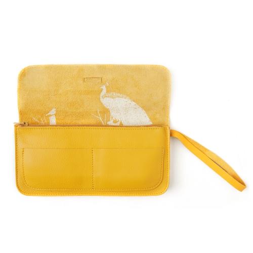 Keecie|最高機密手拿包-野菊黃