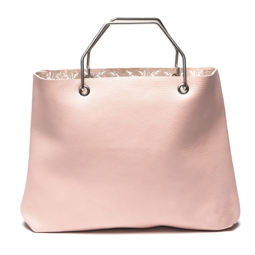 Keecie|購物者手提袋-薔薇粉
