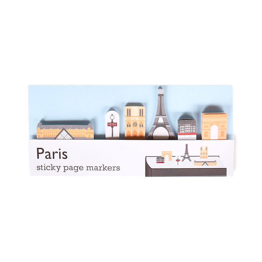 Duncan Shotton 城市地標頁籤貼紙 巴黎