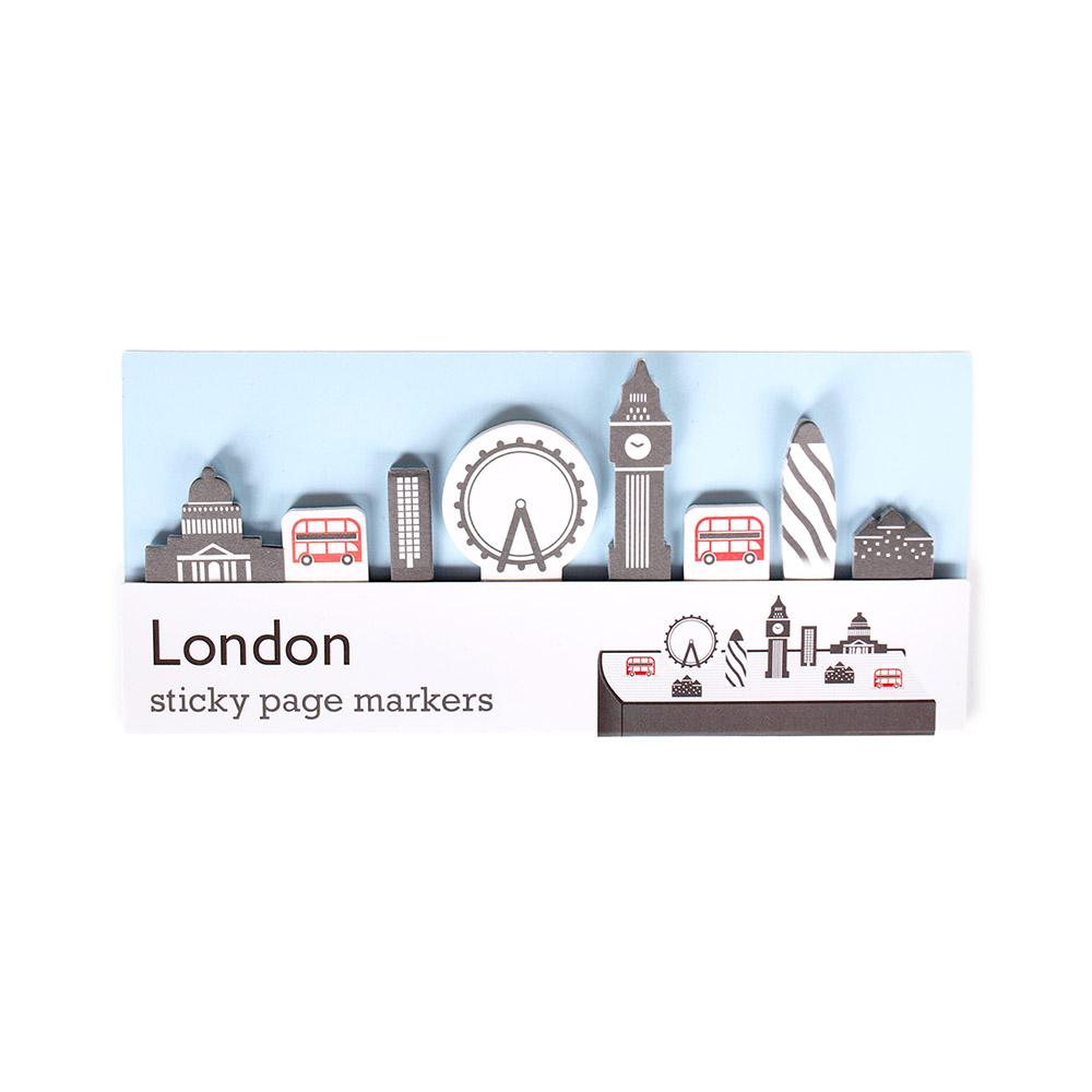 Duncan Shotton|城市地標頁籤貼紙 倫敦