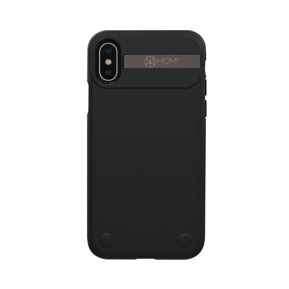 HOMI|The Armour 防摔金屬支架手機殼for iPhone X