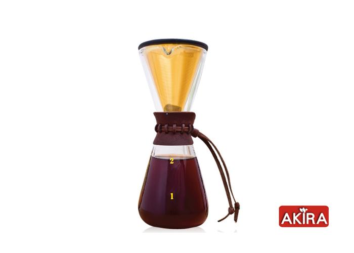 AKIRA|不鏽鋼濾網手沖咖啡組 DPG-1S-TI