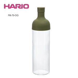 HARIO|酒瓶綠色冷泡茶壺 FIB-75-OG 750ml