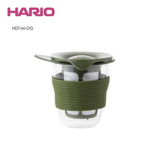 HARIO|墨綠耐熱玻璃杯 HDT-M-OG 200ml