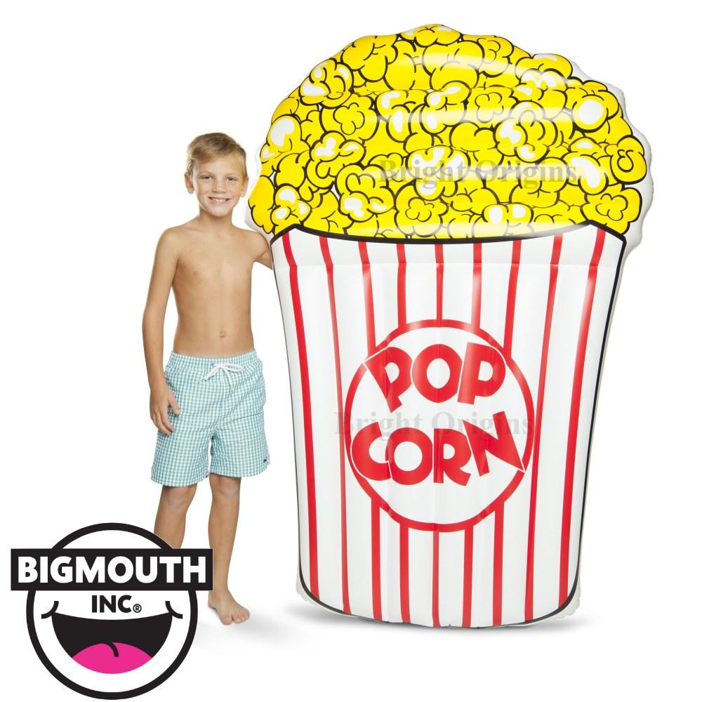 美國 Big Mouth 造型充氣浮板 爆米花款