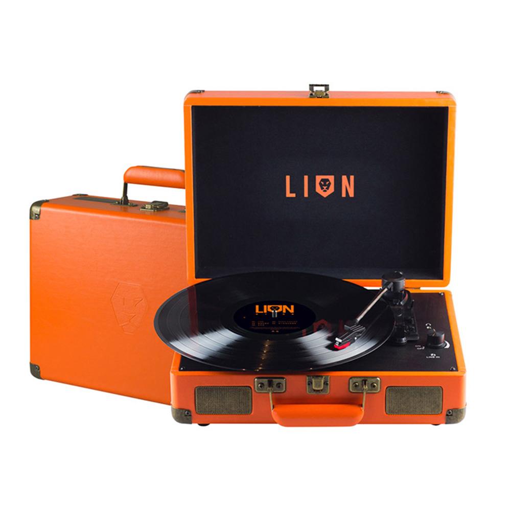 SHINYGOODS|Lion 獅子合唱團 黑膠唱片機