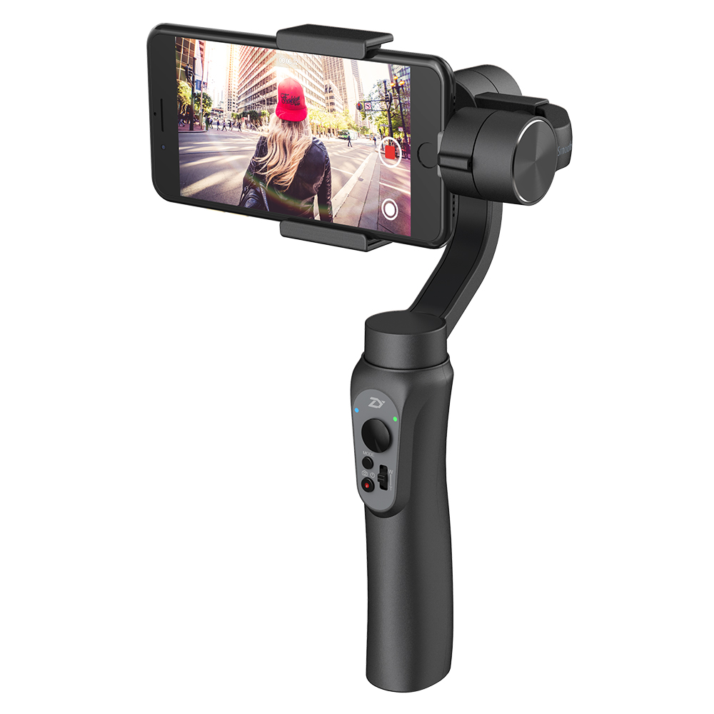 智雲|Z1 SMOOTH Q Zhiyun for Smart phone & GoPro智雲三軸穩定器 - 黑色