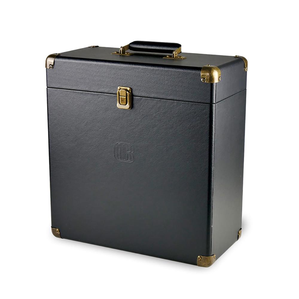 DB|復古可攜黑膠收納箱