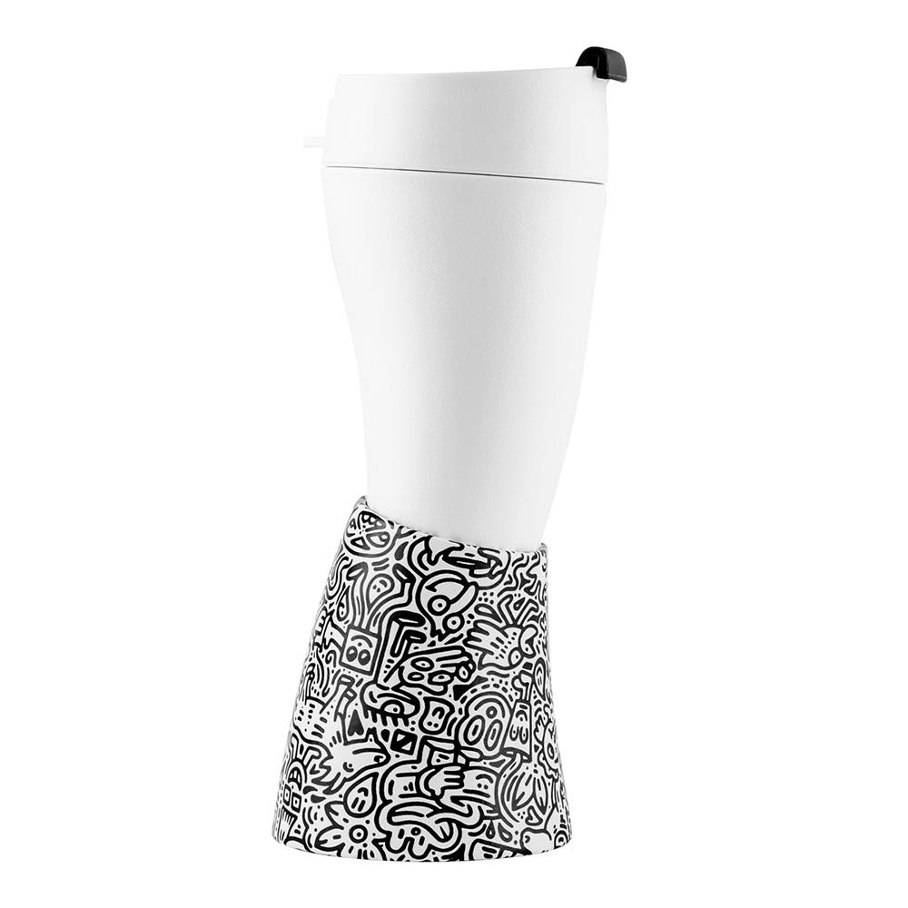 GOAT STORY|Goat Mug Mr. Doodle 聯名款 12oz/350ml 山羊角咖啡杯 創意插畫塗鴉線條隨身杯