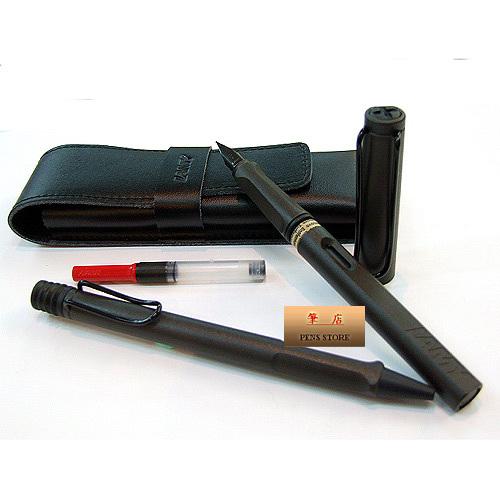 LAMY│狩獵者系列 黑鋼筆+原子筆禮盒對筆組