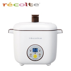recolte日本麗克特|Healthy CotoCoto微電鍋(典雅白)