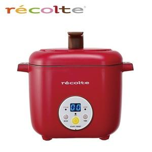 recolte日本麗克特|Healthy CotoCoto微電鍋(櫻桃紅)