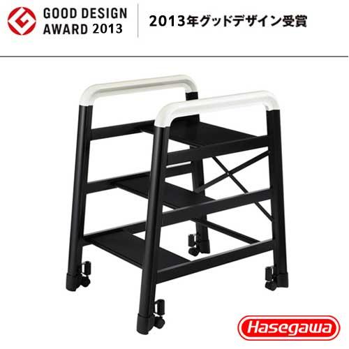 長谷川|設計好梯Camber DE-3B 設計傢俱梯 黑色-3階(59cm)