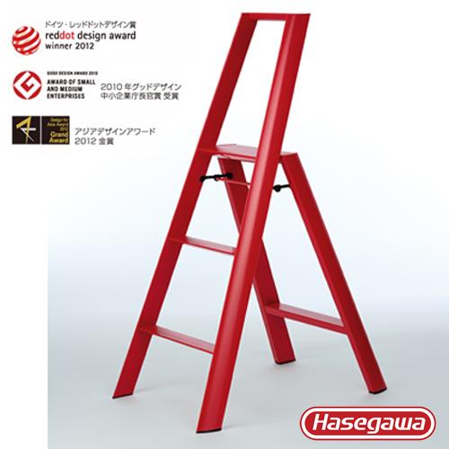 長谷川 Lucano設計傢俱梯 三階紅色-3階(79cm)