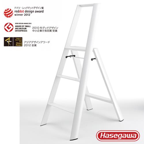 長谷川|Lucano設計傢俱梯 三階白色-3階(79cm)