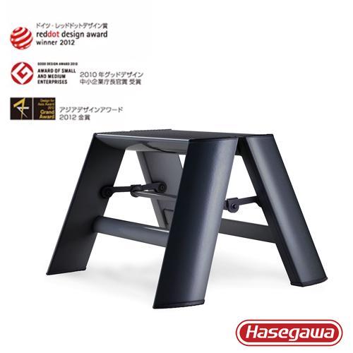 長谷川|Lucano設計傢俱梯 一階黑色-1階(24cm)