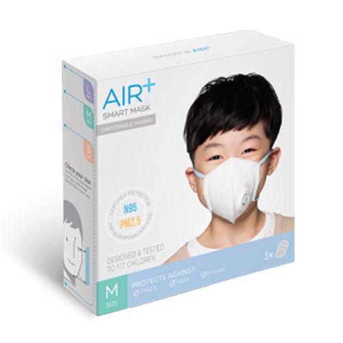 AIR+   氣益佳智慧型口罩5+2入組風扇