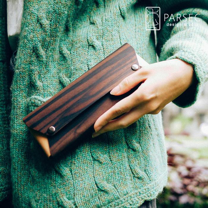 (複製)PARSEC|樹革花梨筆袋