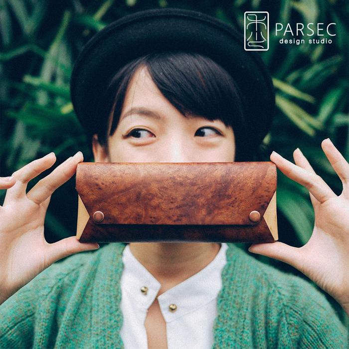 (複製)PARSEC|樹革黑檀筆袋