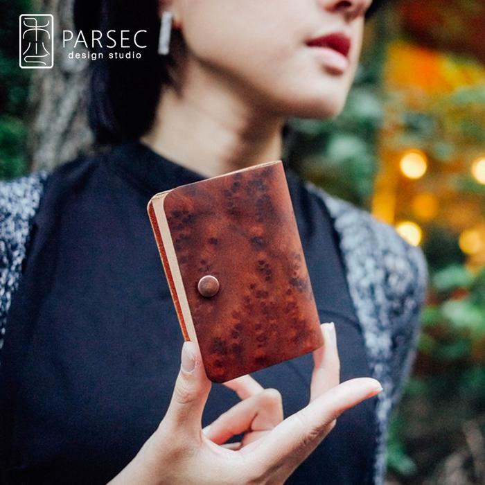 (複製)PARSEC|樹革黑檀名片夾