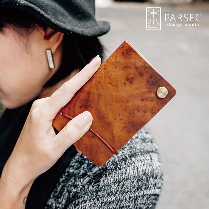 (複製)PARSEC|樹革黑檀旋轉卡套