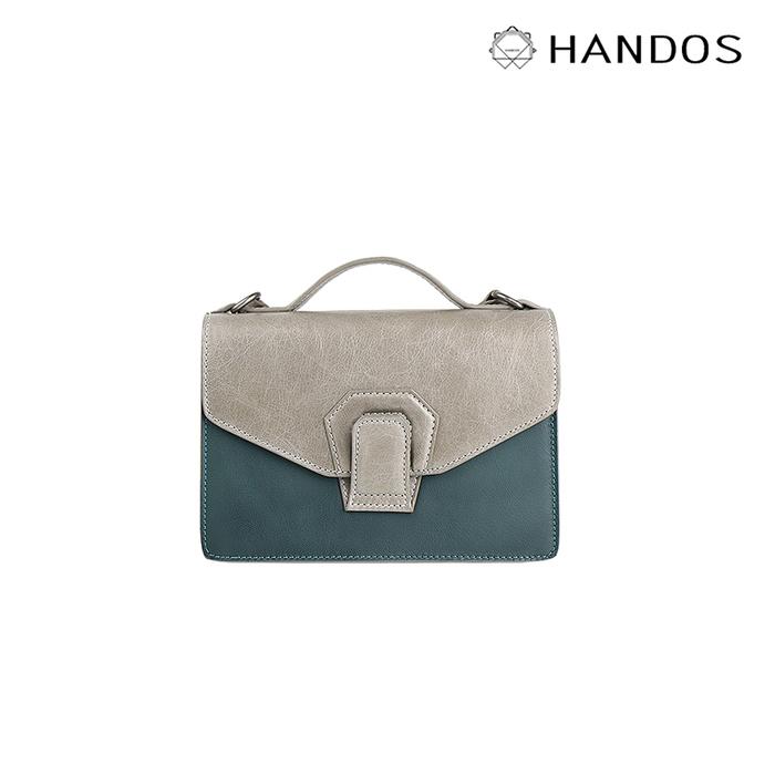 (複製)HANDOS|Pimm's 輕便羊皮休閒肩背包 - 黑 x 綠