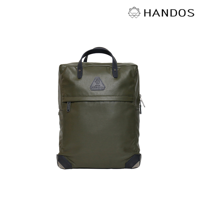 (複製)HANDOS|HERRY L. 皮革後背包 - 霧藍