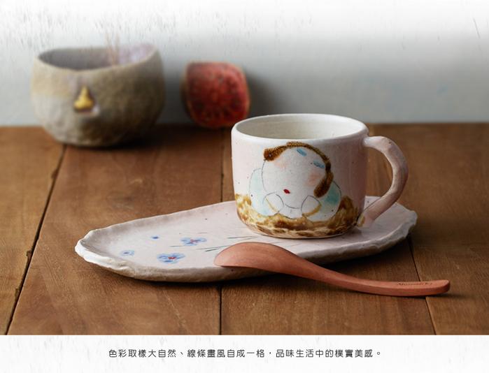 (複製)吳仲宗|胖太太系列 - 福祿平安茶組 - 藕粉 (三件式)