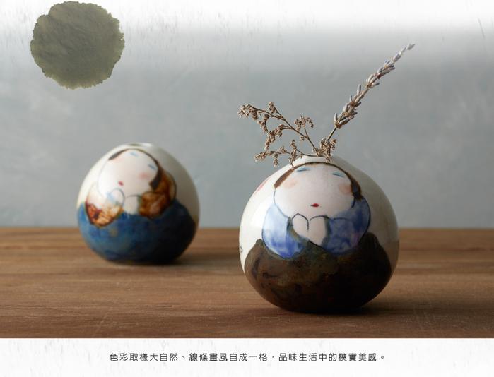 (複製)吳仲宗 胖太太系列 - 小杯-茶香酒詩 (雙件組)